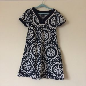Girls medallion print tunic t-shirt/dress